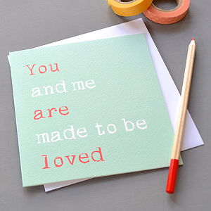 'You Are Loved' Card