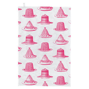 Jelly And Cake Tea Towel