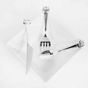 Personalised Noah's Ark Cutlery Set - christening gifts