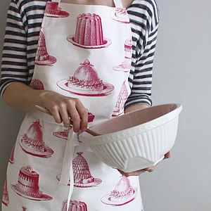 Jelly And Cake Apron - kitchen