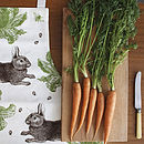 Rabbit And Cabbage Apron