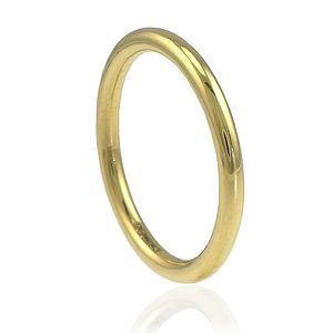2mm Halo Wedding Ring, 18ct Gold Or Platinum - rings