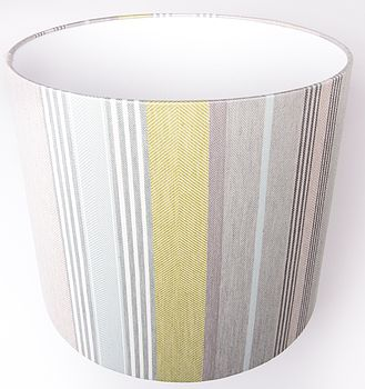 Mistley Stripe Lampshade Large