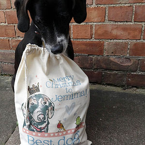 Personalised Pet Christmas Sack - home accessories