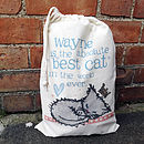 Personalised 'Best Pet' Storage Bag