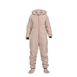 Women's Fluffy Bear Cub Onesie