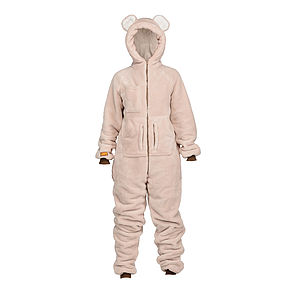 Fluffy Bear Cub Onesie - lounge & activewear