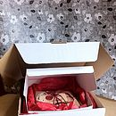 Box Of Eight 'Love' Jammie Biscuits