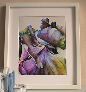 Fine Art Giclee Print Of Flowers