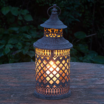 Marrakesh Lattice Candle Lantern