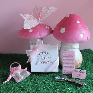 Personalised Girl's Dummy Mini Fairy Letter - gift sets