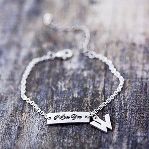 I Love You Tag Bracelet - view all sale items