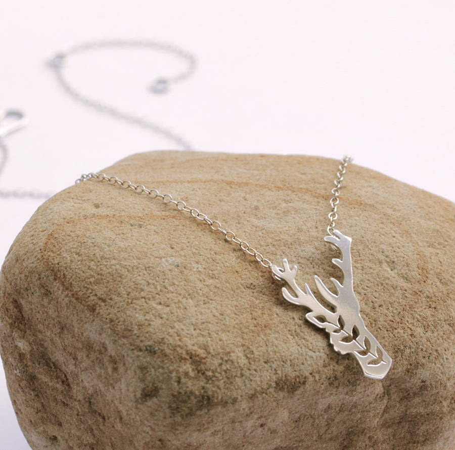 Small Stag Necklace