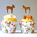 donkey-strawberries-cupcake-wrappers-pattern-ink-pudding-notonthehighstreet