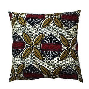Seed African Print Cushion