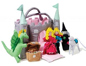 Castle Soft Play Toy - soft toys & dolls