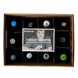 12 Week Beer Club Subscription - champagne & drink gifts