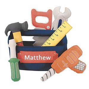 Personalised Tool Set - soft toys & dolls