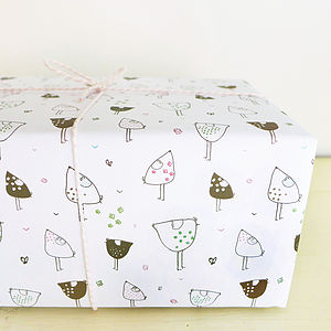 Hens Gift Wrap