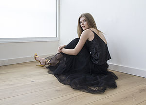 Dramatic Maxi Silk Tulle Skirt Was £195 Now From £125 - wedding fashion