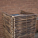 Wheelie Bin Screen Single Wb1
