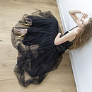 Dramatic Maxi Silk Tulle Skirt Was £195 Now From £125