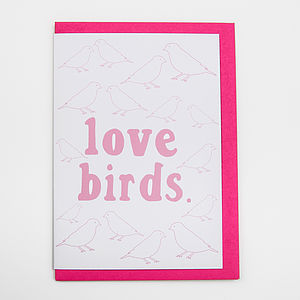 'Love Birds' Card
