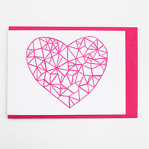 'Heart' Card - seasonal cards