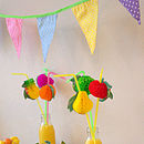 Candy Coloured Polka Dot Bunting