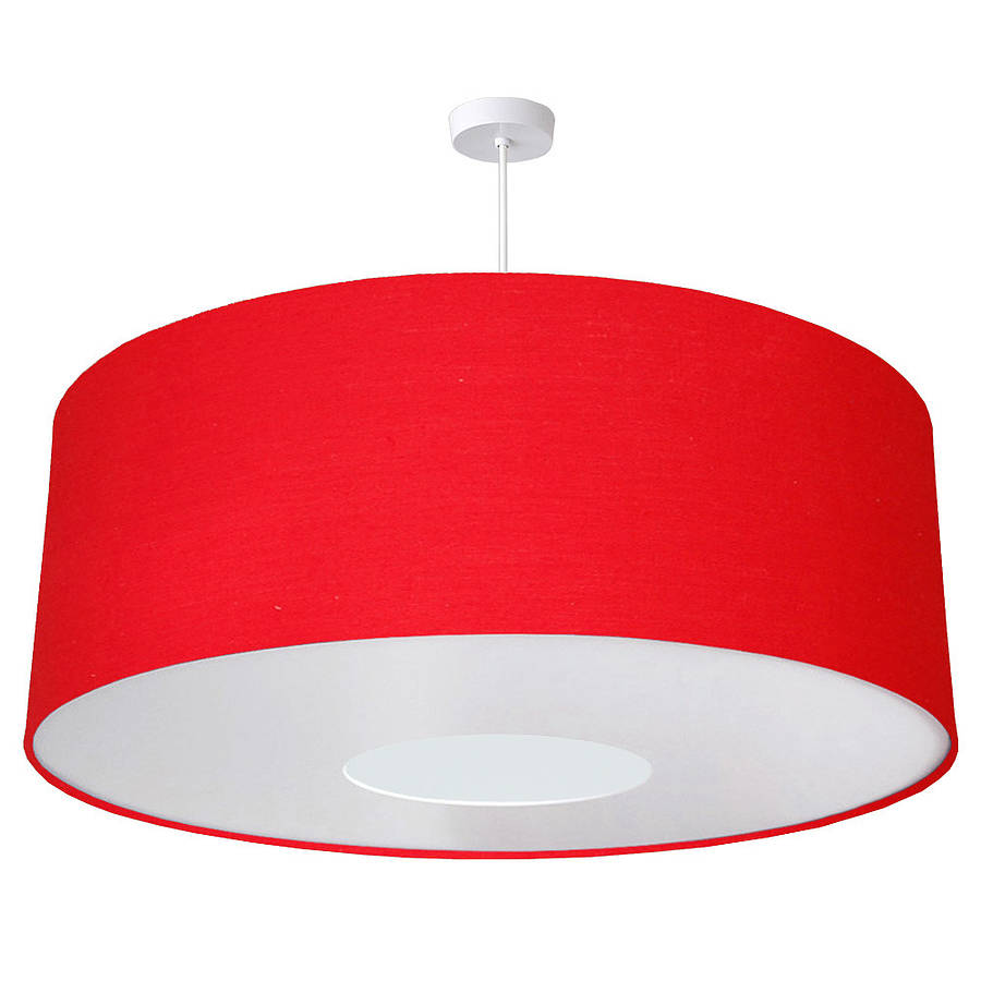 Oversize Large Ceiling Pendant Shade 40 Colours By Quirk
