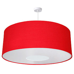 Oversize Large Ceiling Pendant Shade 40 Colours