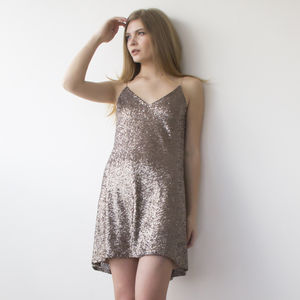 Sparkling Sequin Dress - statement sparkle