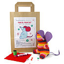 Sock Mouse Craft Kit