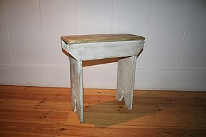 Short Bench Or Stool - furniture