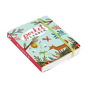 'Forest Friends' Pocket Planner