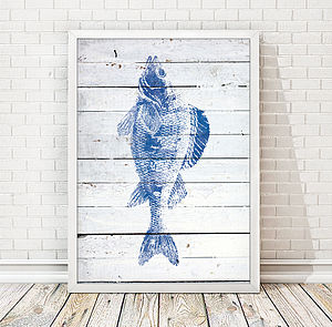 Fish Illustration Print