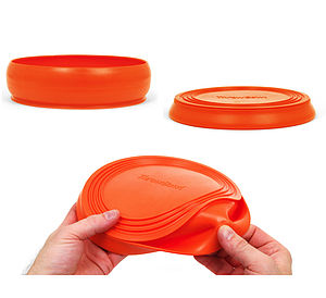 Frisbee Flying Disc Toy And Water Bowl - dogs