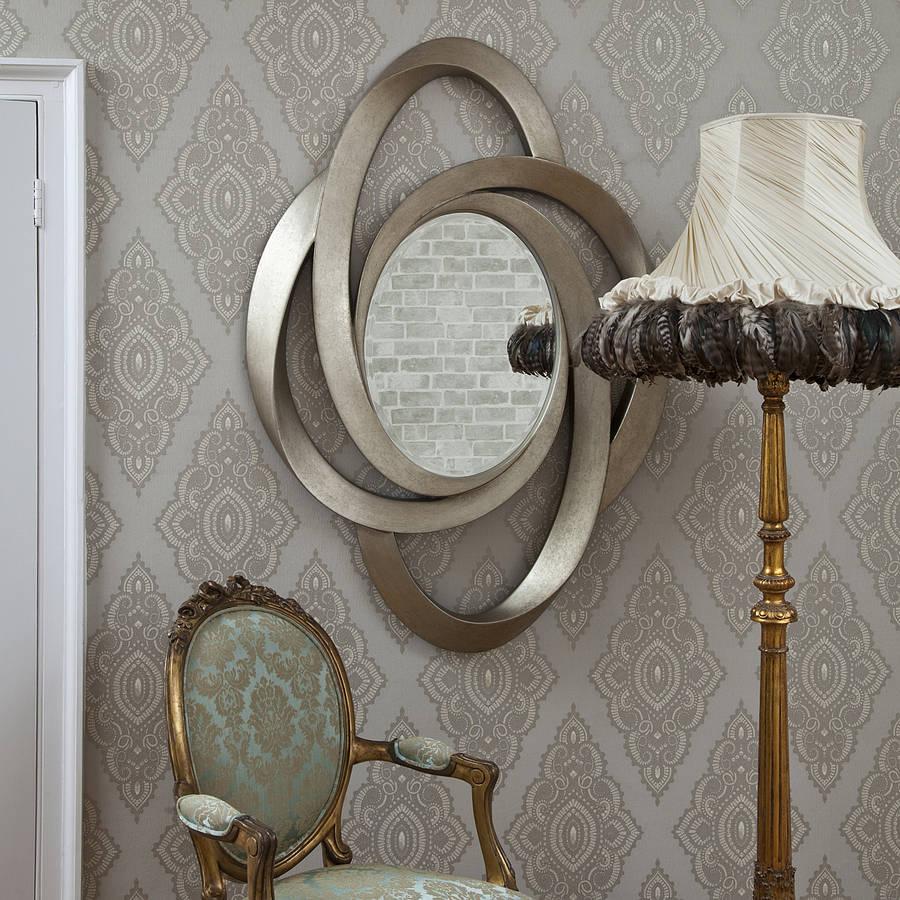 Loretto antique bronze mirror by decorative mirrors online for Bronze mirror
