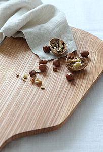 Wooden Food Platter - cheese boards & knives