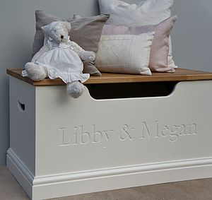 Girls Toy Box Or Storage Chest - children's room