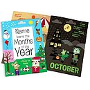 Months Of The Year Personalised Book