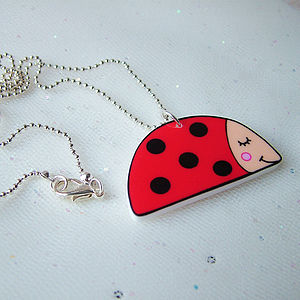 Children's Ladybird Necklace - necklaces