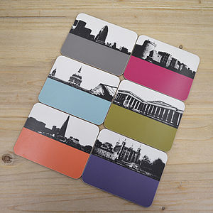 New London Coaster Set