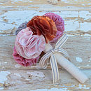 Fabric Bridesmaid Posie