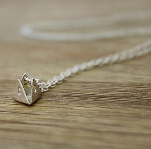 Personalised Initial Prism Necklace