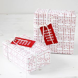 Geek Binary Gift Wrap Set - wrapping paper