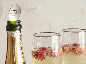 Silver Plated Champagne Bottle Spoon - kitchen