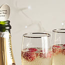 Silver Plated Champagne Bottle Spoon