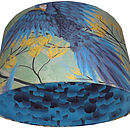 Stunning Green/Blue Birds Designer Lampshade