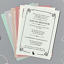 'Duckling' Or Cross Christening/Baptism Invitations